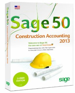 Sage 50 2013 Construction Accounting - 3 User Edition (PC)