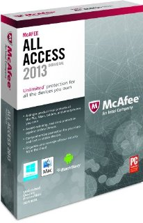 McAfee All Access Individual 2013 (1 User)
