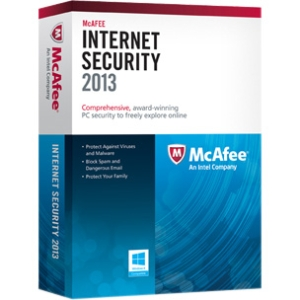 McAfee Internet Security 2013 - 1 PC - Internet Security - 1 Year Retail - PC - English