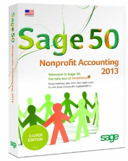 Sage 50 Nonprofit Accounting 2013 - 5 User Edition