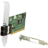 Transition Networks Fiber Optic Network Card - 1 x ST Port(s)