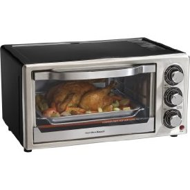 6 SLICE TOASTER OVEN BROILER WITH CONVECTION