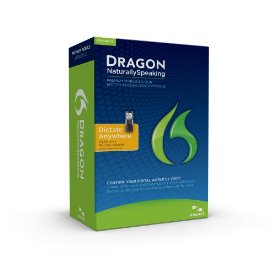 Dragon NaturallySpeaking Premium 12 with Digital Recorder (English)