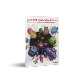 Autodesk SketchBook Pro v.6.0 - Upgrade License - 1 Seat - Commercial - PC, Mac - Multilingual