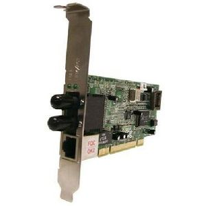 Transition Networks Fast Ethernet Dual Media Network Interface Card - PCI - 1 x RJ-45 , 1 x ST - 10/100Base-TX, 100Base-FX