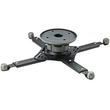 OmniMount WorldMount 3N1-PJT Ceiling Mount for Projector - 40.00 lb Load Capacity - Black