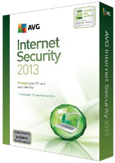 1YR AVG INTERNET SECURITY 2013 1U