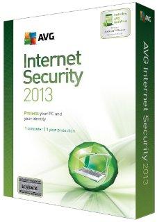 1YR AVG INTERNET SECURITY 2013 1U