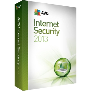 AVG Internet Security 2013 - Complete Product - 3 User - Internet Security - Standard - 1 Year Retail - PC