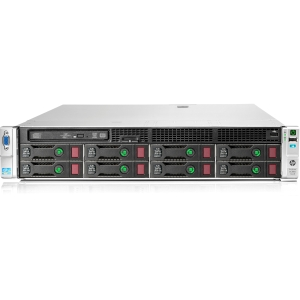 HP ProLiant DL380e G8 686203-S01 2U Rack Server - 1 x Intel Xeon E5-2420 1.9GHz - 2 Processor Support - 16 GB Standard - Serial ATA/600 RAID Supported, 6Gb/s SAS Controller - Gigabit Ethernet - RAID Level: 0, 1, 1+0, 5