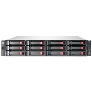 HP StorageWorks P2000 G3 DAS Array - Serial Attached SCSI (SAS) Controller - RAID Supported - 12 x Total Bays - 6Gb/s SAS - 2U Rack-mountable