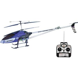 51 INCH RC HELICOPTER METAL ALLOY STRUCTURE