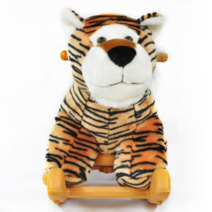 Radio Road Toys Voice Recording Rocking Tiger