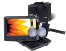 PORTABLE DVD PLAYER 9IN SWIVEL SCREEN