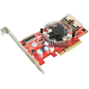 Addonics 8-Port SATA/SAS PCIe Controller - 2 SFF-8087 6Gb/s SAS Mini-SAS Internal - PCI Express 2.0 x8