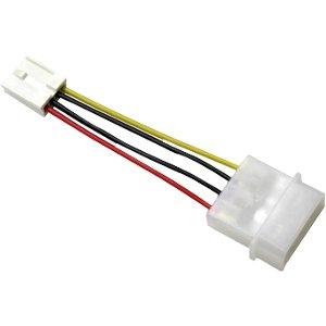 Image of Addonics 4-Pin Female to Female Floppy Power CBL