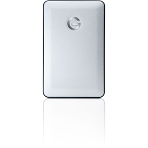 G-Technology G-DRIVE mobile USB GDRU3PA10001ADB 1 TB External Hard Drive - Silver - USB 3.0 - 5400 rpm