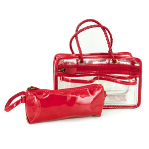 Switch it Hand bag Organizers Mini Insert (Red)