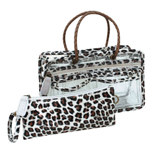 Switch it Hand bag Organizers Mini Insert (Natural Leopard)
