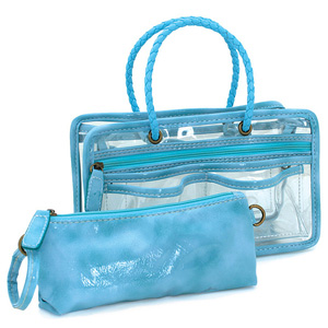 Switch it Hand bag Organizers Mini Insert (Turquoise)