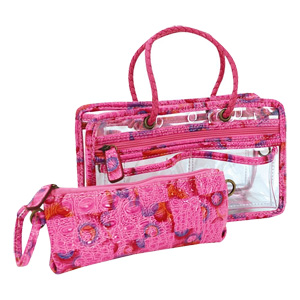 Switch it Hand bag Organizers Mini Insert (Hot Pink Daiquiri)