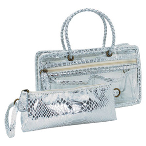 Switch it Hand bag Organizers Mini Insert (White Ice)