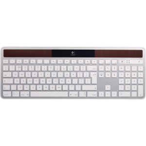 Logitech Wireless Solar Keyboard K750 for Mac - Wireless - RF - USB - Computer