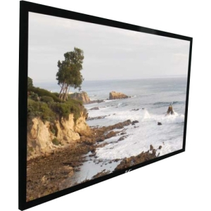 "Elite Screens SableFrame ER100DH2 Projection Screen - Fixed Frame - 49"" x 87"" - 100"" Diagonal - 16:9 - Wall Mount"