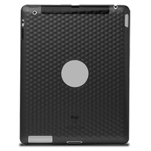 Qmadix Flex Gel Case for Apple iPad 2, Black