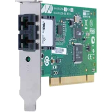 Image of Allied Telesis 100Mbps Fast Ethernet Dual Fiber Network Interface Card