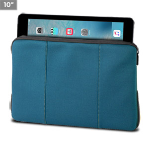 Targus Impax Sleeve for Apple iPad 16GB, 32GB, 64GB WiFi + 3G, iPad 2 TSS20502US (Blue with Gray Accents)