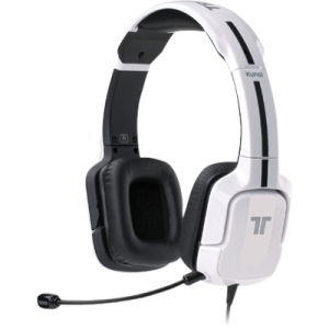 Tritton Kunai Stereo Headset For Playstation 3 and PS Vita - Stereo - White - Mini-phone, RCA - Wired - 16 Ohm - 25 Hz - 20 kHz - Over-the-head - Binaural - Ear-cup