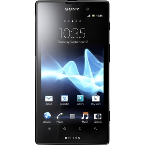 "Sony Mobile XPERIA ion Smartphone - Wi-Fi - 4G - Bar - Black - SIM-free - Android 2.3 Gingerbread - 4.6"" LCD 1280 x 720 - Touchscreen - Multi-touch Screen - 12.1 Megapixel Camera - Quad Band GPS Reciever - Bluetooth - USB - 10 Hour Talk Time"