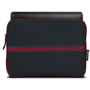 "Targus 10.2"" Neoprene Slipskin (Black and Red)"