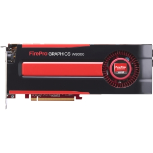 AMD FirePro W8000 Graphic Card - 4 GB GDDR5 SDRAM - PCI Express 3.0 x16 - Full-length/Full-height - 4096 x 2160 - CrossFire Pro - Fan Cooler - DirectX 11.1, OpenGL 4.2, OpenCL 1.2 - DisplayPort