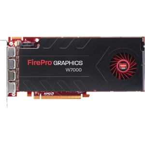 AMD FirePro W7000 Graphic Card - 4 GB GDDR5 SDRAM - PCI Express 3.0 x16 - Full-length/Full-height - 4096 x 2160 - CrossFire Pro - Fan Cooler - DirectX 11.0, OpenGL 4.2, OpenCL 1.2 - DisplayPort