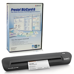 Ambir TravelScan Pro PS600-ME Card Scanner - 48-bit Color - 8-bit Grayscale - USB