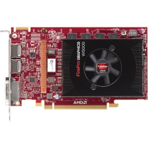 AMD FirePro W5000 Graphic Card - 2 GB GDDR5 SDRAM - PCI Express 3.0 x16 - Half-length/Full-height - 4096 x 2160 - CrossFire Pro - Fan Cooler - DirectX 11.0, OpenGL 4.2, OpenCL 1.2 - DisplayPort - DVI