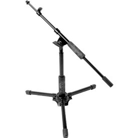 ALL SHORT MIC STAND W/ TELESCOPING METAL ON METAL CLUTCH