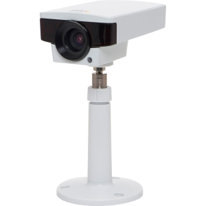 Axis M1143-L Network Camera - Color, Monochrome - CS Mount - 2.4x Optical - CMOS - Cable - Fast Ethernet