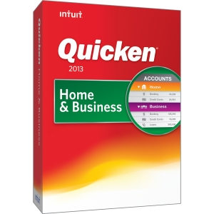 Intuit Quicken 2013 Home & Business (1 User)