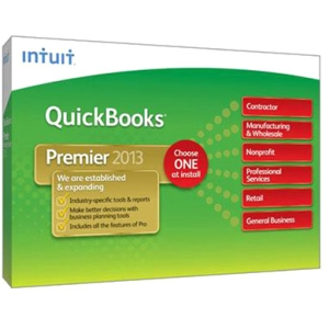Intuit QuickBooks 2013 Premier Industry Edition - Complete Product - 1 User - Financial Management - Standard Retail - CD-ROM - PC