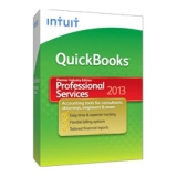 Intuit QuickBooks 2013 Premier Professional Services Edition - Complete Product - 1 User - Financial Management - Standard Retail - CD-ROM - PC