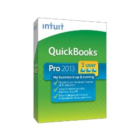 QuickBooks Pro 2013 for 3 Users