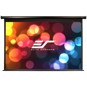 "Elite Screens Spectrum Series Multi-Purpose Electric/Motorized Screen - Electric - 61.3"" x 109"" - AcousticPro1080P2 - 125"" Diagonal - 16:9 - Wall Mount, Ceiling Mount"