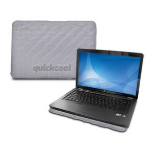 Thermapak QC14B QuickCool Passive Laptop Cooling Pad - Gray
