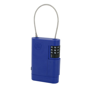 GE AccessPoint Portable Stor-A-Key with Adjustable Cable (Blue)