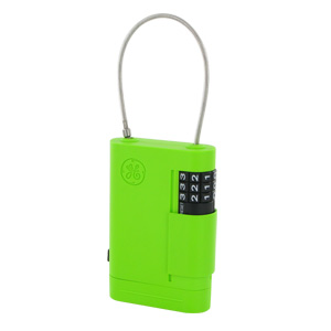 GE AccessPoint Portable Stor-A-Key with Adjustable Cable (Green)