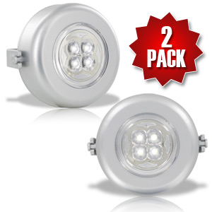Sound Activated LED Spotlight - Set of 2