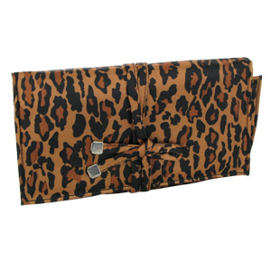 Totes Jewelry Portfolio Travel Case (Leopard Print)